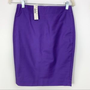 NWT J.Crew No. 2 Pencil Skirt